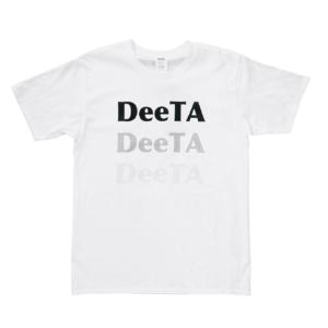 グラデーションT-shirts<br>ホワイト